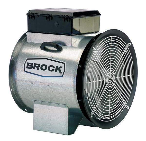 Brock GUARDIAN® Axial Fan Features - Brock® Systems for Grain